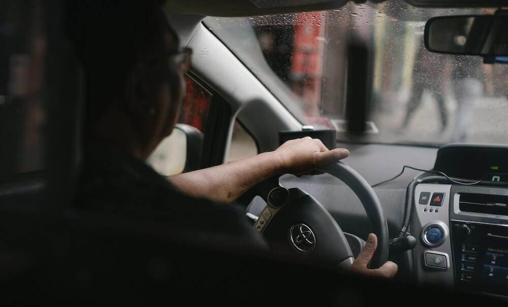 SIU Investigator in Car