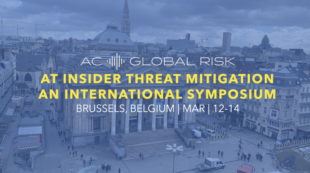 Clearspeed at Energy Threat Symposium Brussels Belgium