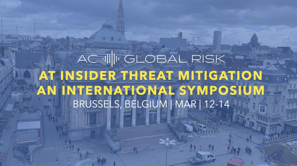Clearspeed en Energy Threat Symposium Bruselas Bélgica